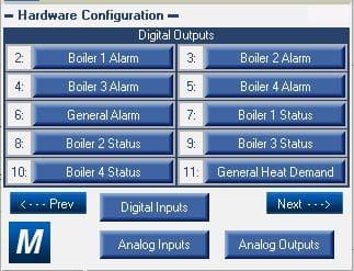 ModSync Hardware Configuration Screen