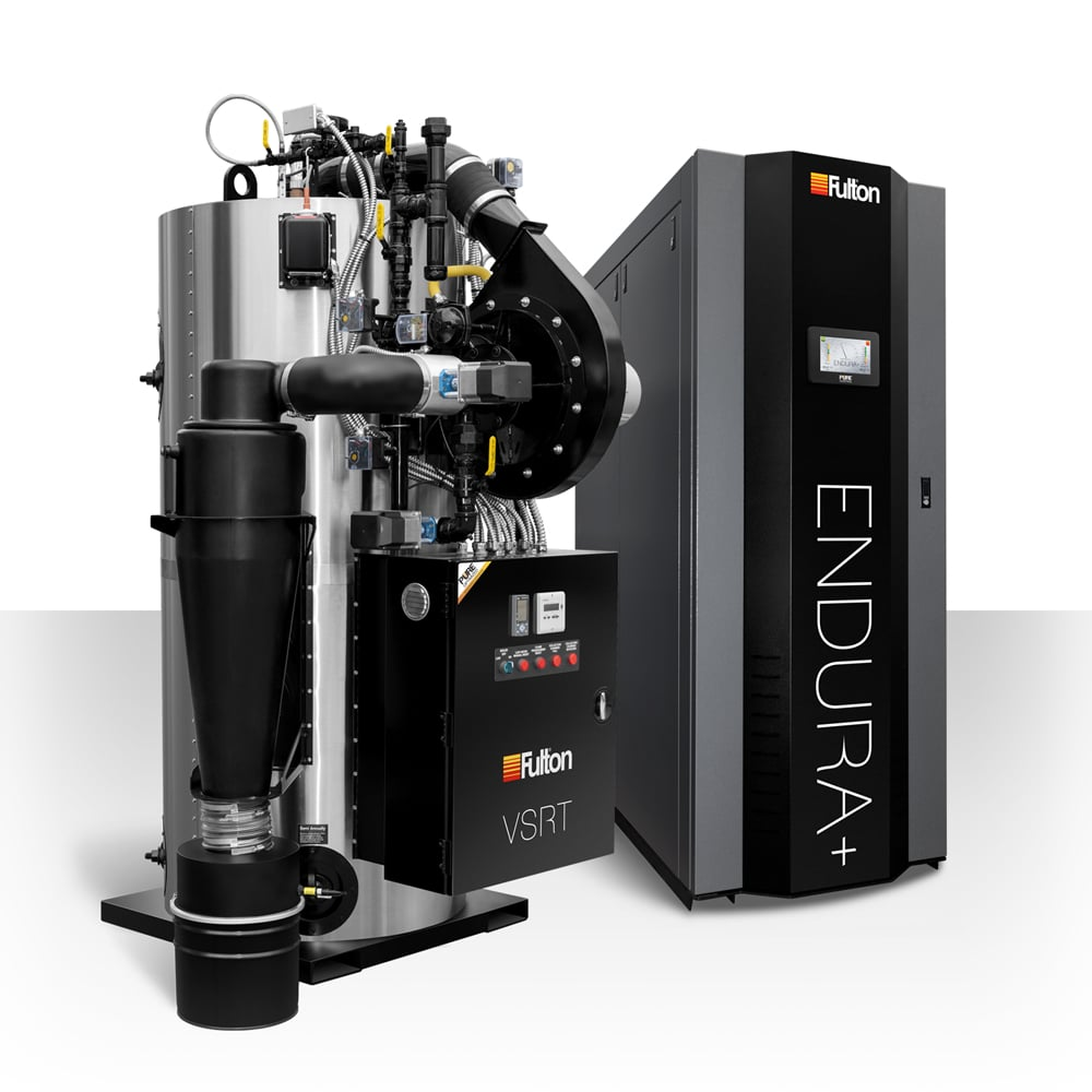 Fulton's Vertical Spiral Tubeless VSRT Boiler System and Endura+ System