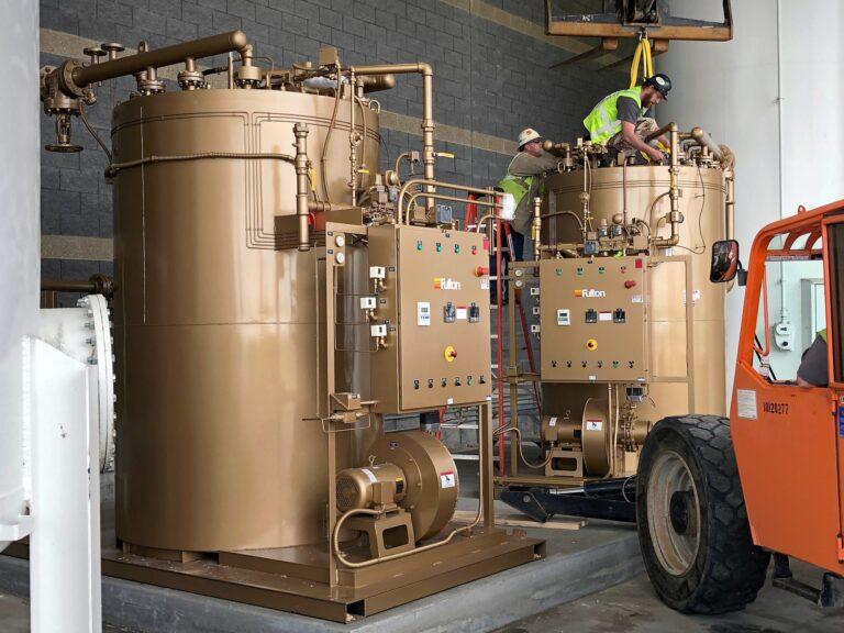 Fulton Heater Installation